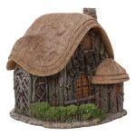 fairy house thatched cottage